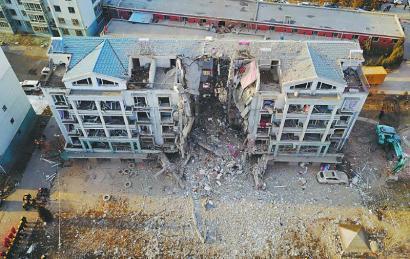 内蒙古包头居民楼天然气管道爆炸致5人遇难