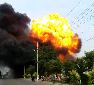 河北黄骅晶柯镀膜厂发生爆炸 致6死1伤