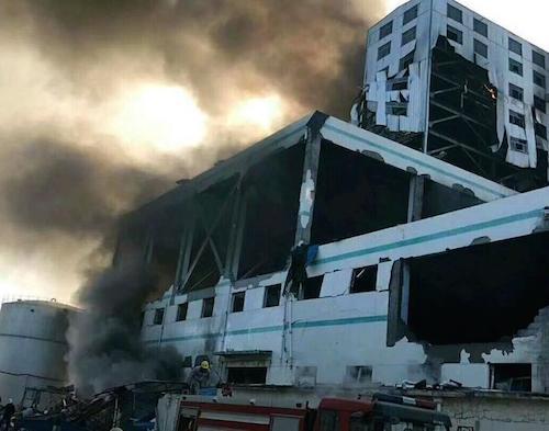 山东潍坊昌乐一化工企业发生爆燃事故 致7死4伤